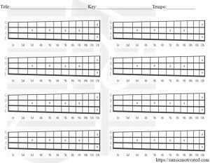 blank chord tabs for all instruments. Black Bedroom Furniture Sets. Home Design Ideas