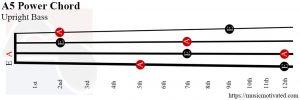 A5 power Upright Bass chord