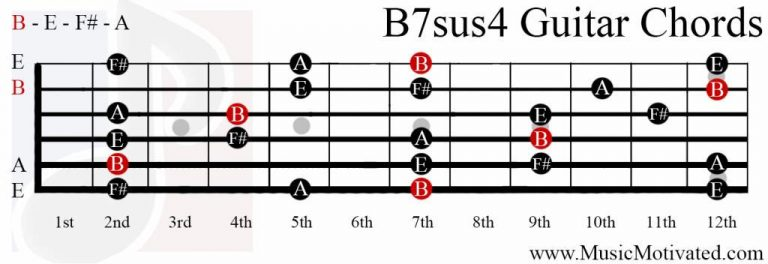 How To Play the Bm7 Chord On Guitar B Minor 7